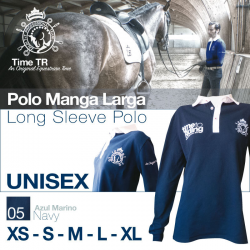 Polo Time Tr Manga Larga Unisex