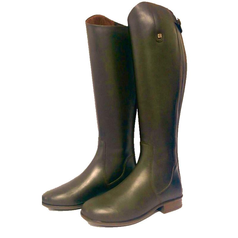 Bota iquus doma cuero elastico equivan tienda hipica for Colgadores para botas