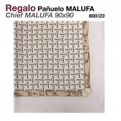 PAÑUELO MALUFA 90x90 600/23 GRIS