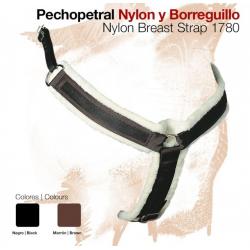 PECHOPETRAL NYLON BORREGUILLO SINTETICO